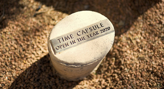 All about time capsules and plaque markers