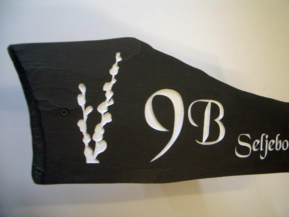 Unique Custom House Signs Slate Stone Plaques And Name