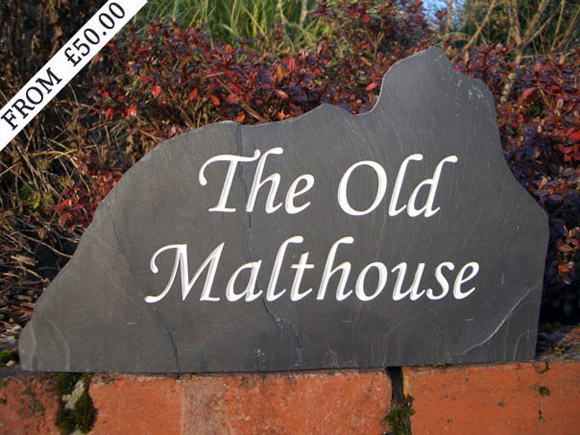 freestanding house Sign