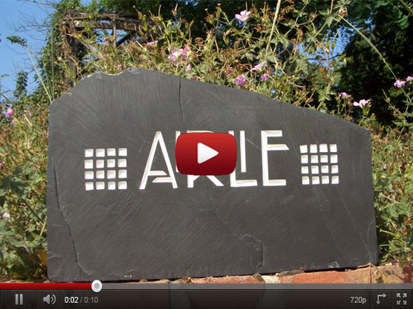 Freestanding House Signage Youtube