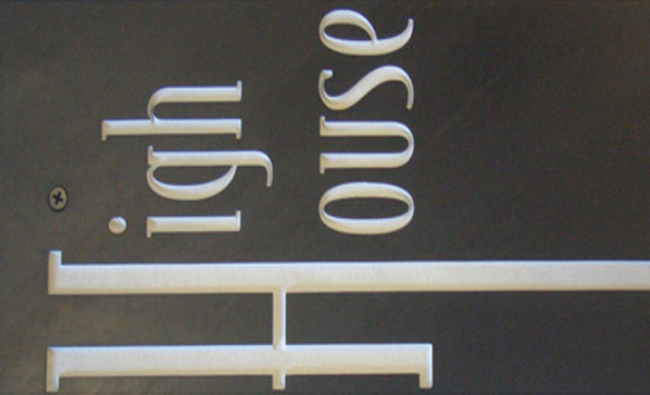 Contemporary Signage