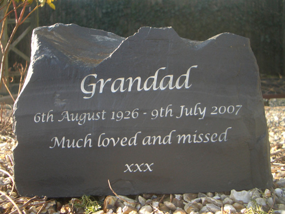 stone slate remembrance
