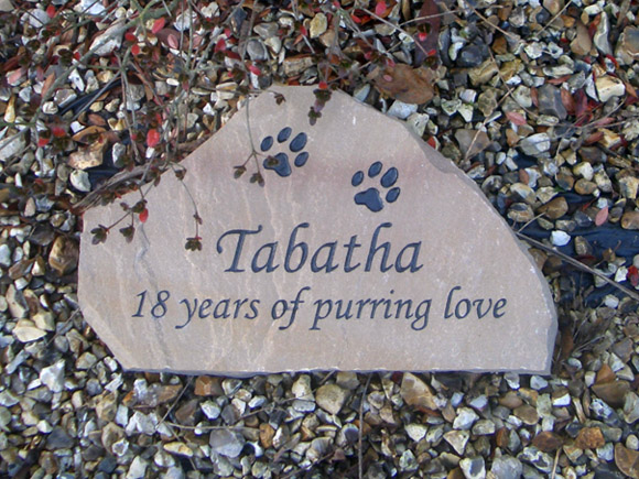 pet cat memorial