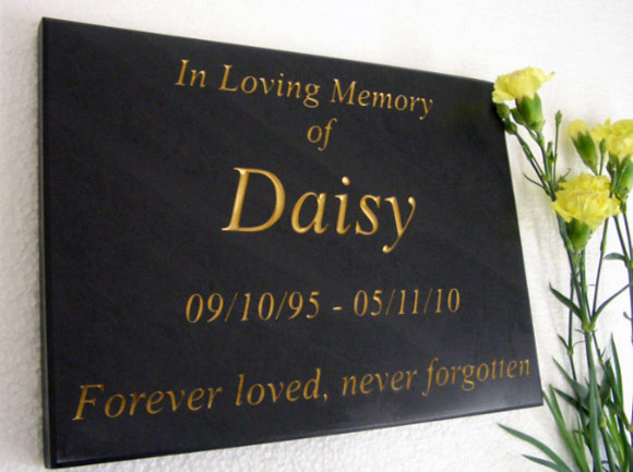 lovely wall plaque memorial