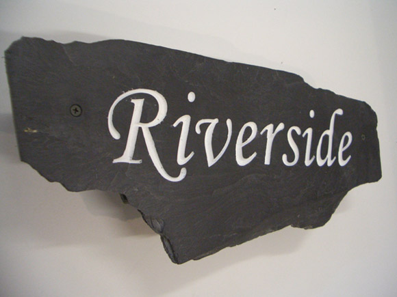 riverside plaque