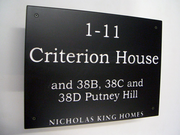 care home signage